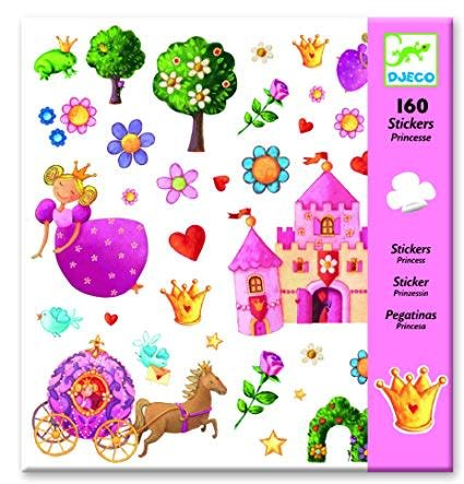 Djeco (Hotaling Imports) Stickers - Princess