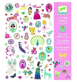 Djeco (Hotaling Imports) 1000 Stickers for Girls