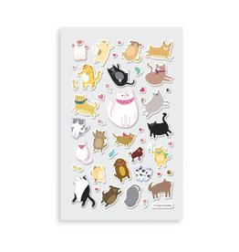 Ooly Itsy Bitsy Stickers - Puffy Pets