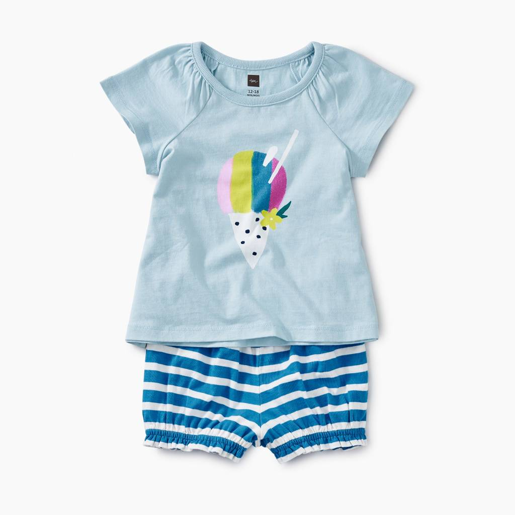 Tea Collection Hawaiian Ice Baby Outfit