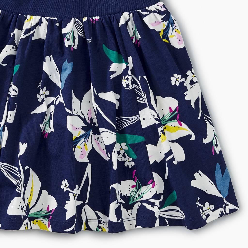Tea Collection Tropical Lillies Twirl Skort