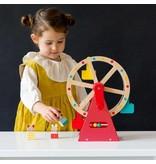 Petit Collage Carnival Wood Ferris Wheel