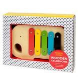 Petit Collage Modern Elephant Wood Xylophone