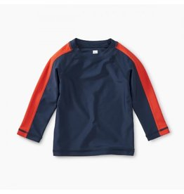 Tea Collection Sporty Stripe Baby Rash Guard