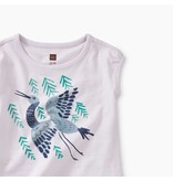 Tea Collection Crane Baby Tee
