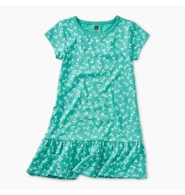 Tea Collection Dragonfly Ditsy Ruffle Dress