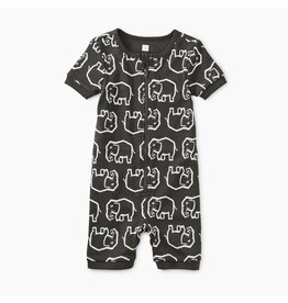 Tea Collection Elephant Caravan Baby Pajamas