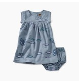Tea Collection Ikat Striped Baby Dress