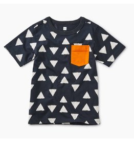 Tea Collection Ikat Triangles Tee