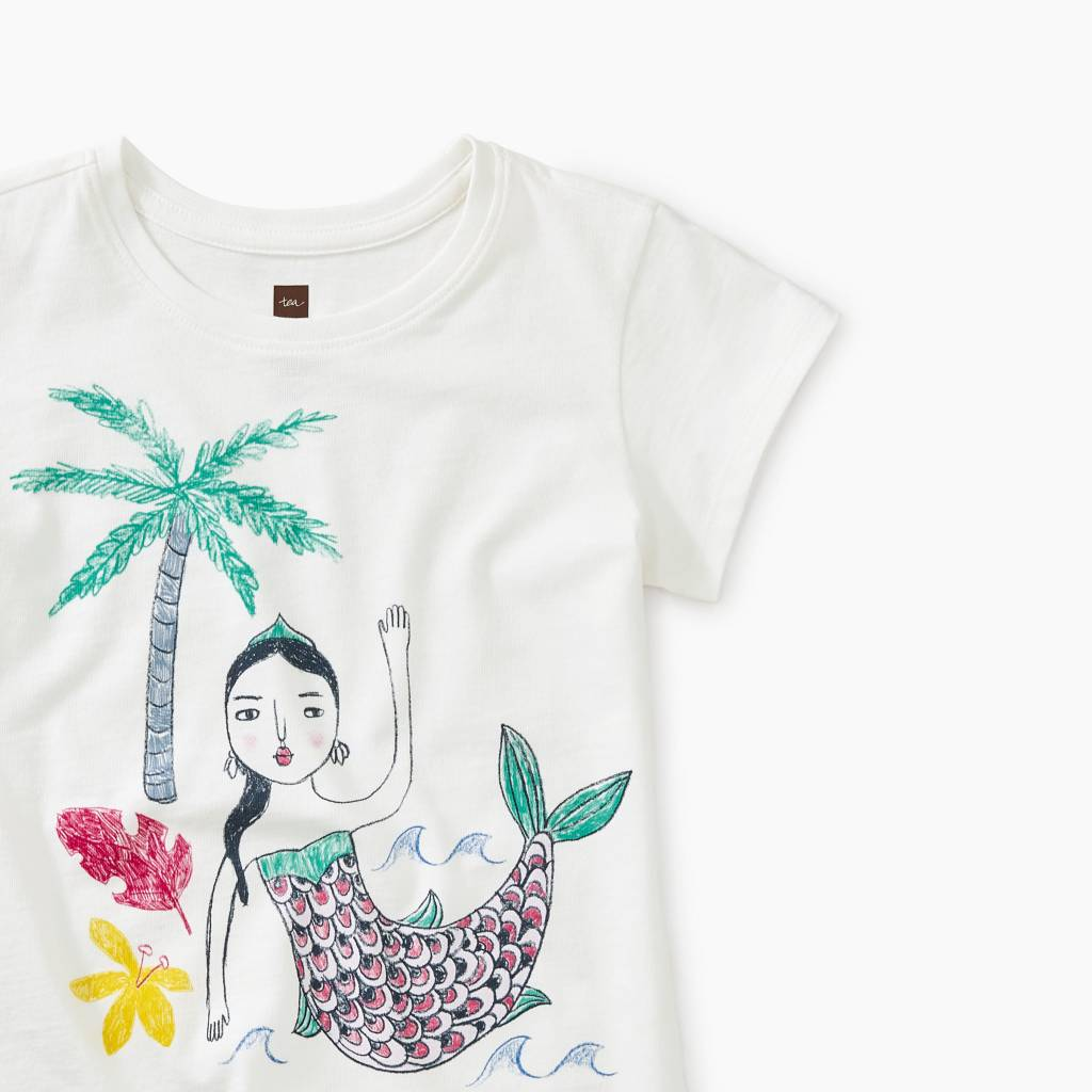 Tea Collection Island Mermaid Tee