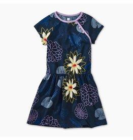 Tea Collection Lilypad Floral Raglan Dress