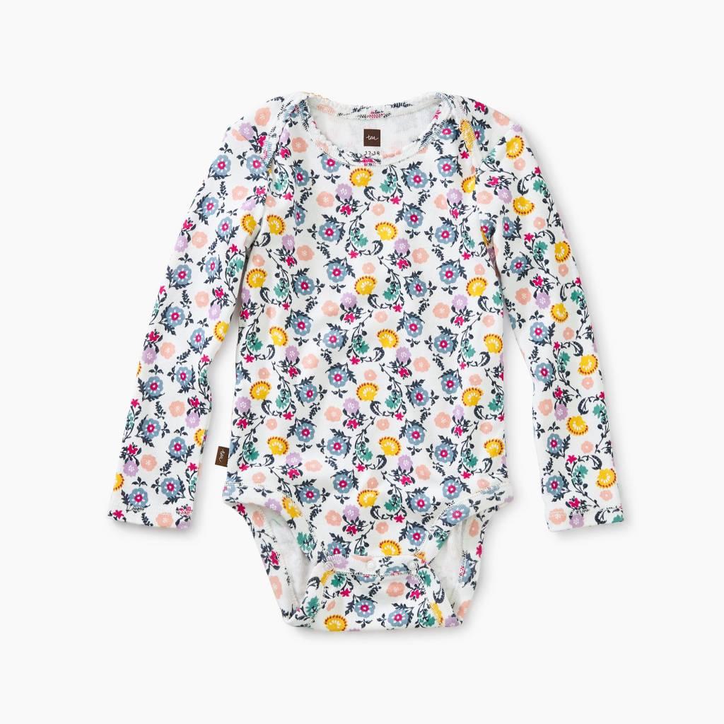 Tea Collection Lyrical Floral Bodysuit