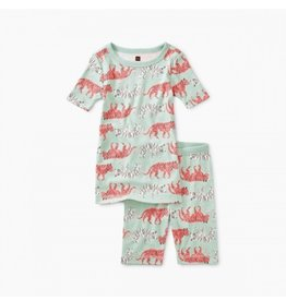 Tea Collection Tiger Trek Shortie Pajamas