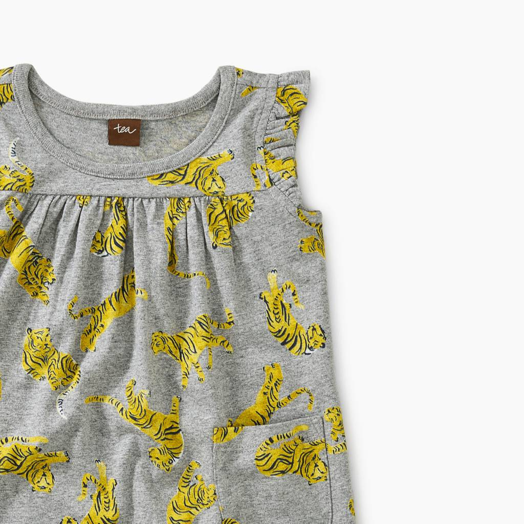 Tea Collection Tossed Mighty Mini Baby Dress