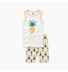Tea Collection Pineapple Tank Pajamas