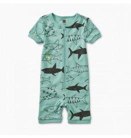 Tea Collection Swimming Sharks Baby Pajamas