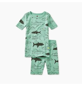 Tea Collection Swimming Sharks Pajamas