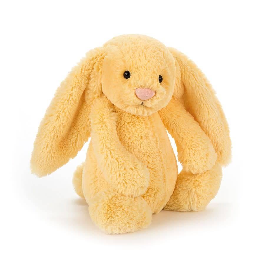 Jellycat Bashful Bunny Lemon - Medium