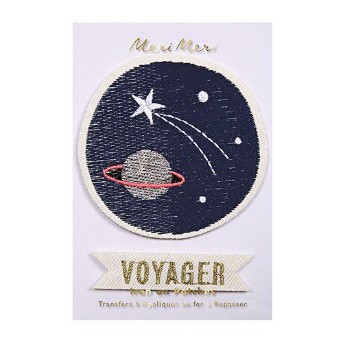 Meri Meri Space Embroidered Patch