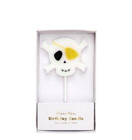 Meri Meri Skull & Crossbones Candle