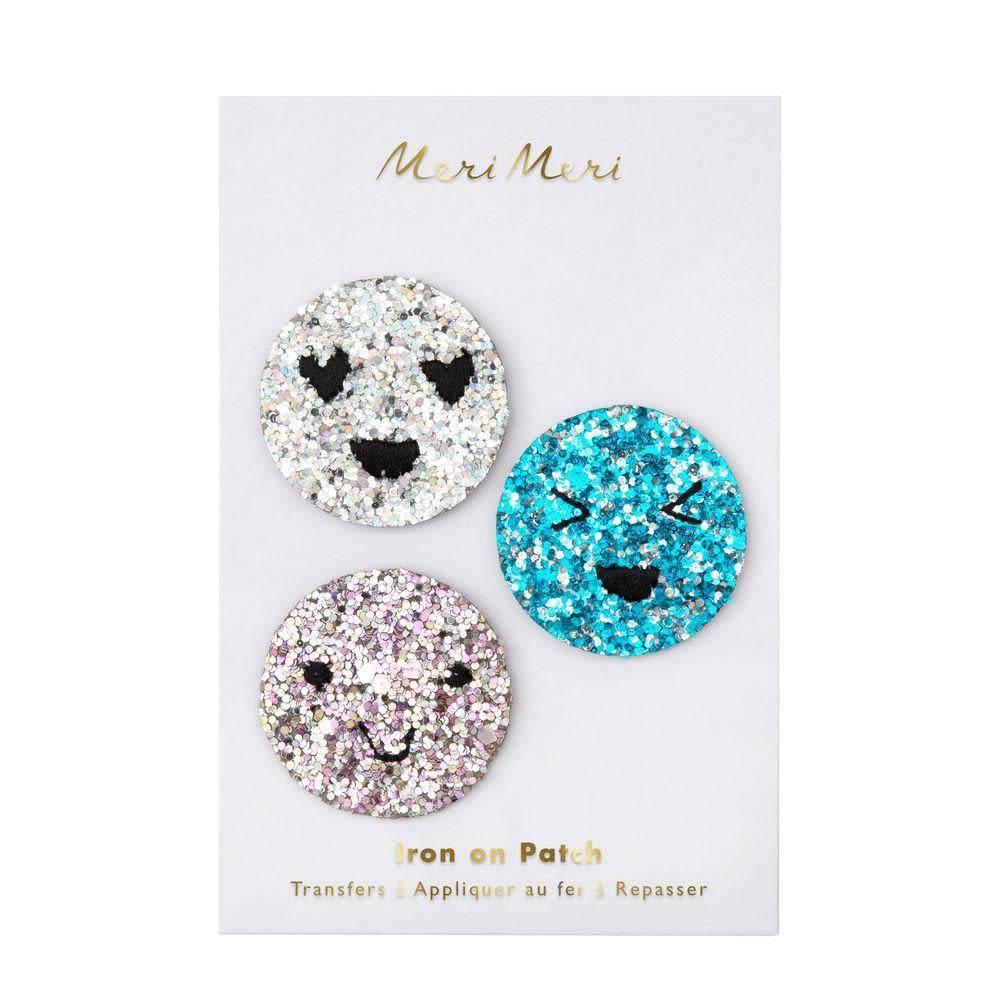 Meri Meri Glitter Emoji Patch