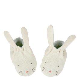 Meri Meri MInt Bunny Baby Booties