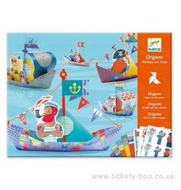 Djeco (Hotaling Imports) Floating Boats Origami