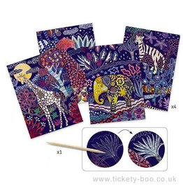 Djeco (Hotaling Imports) Lush Nature Scratch Cards