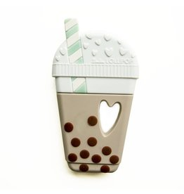 Loulou Lollipop Bubble Tea Teether - Taupe