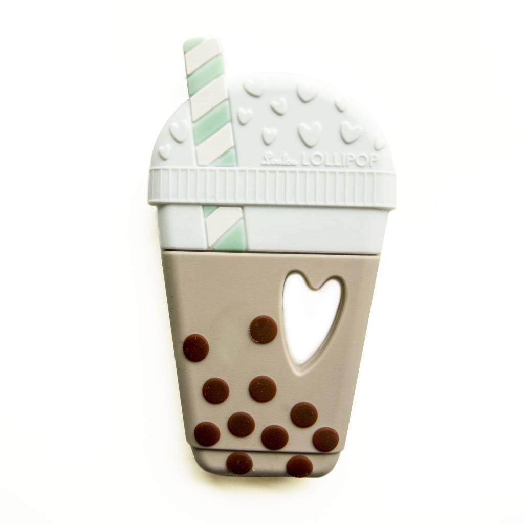 Loulou Lollipop Bubble Tea Teether - Taupe