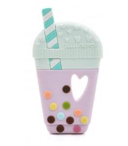 Loulou Lollipop Bubble Tea Teether - Purple