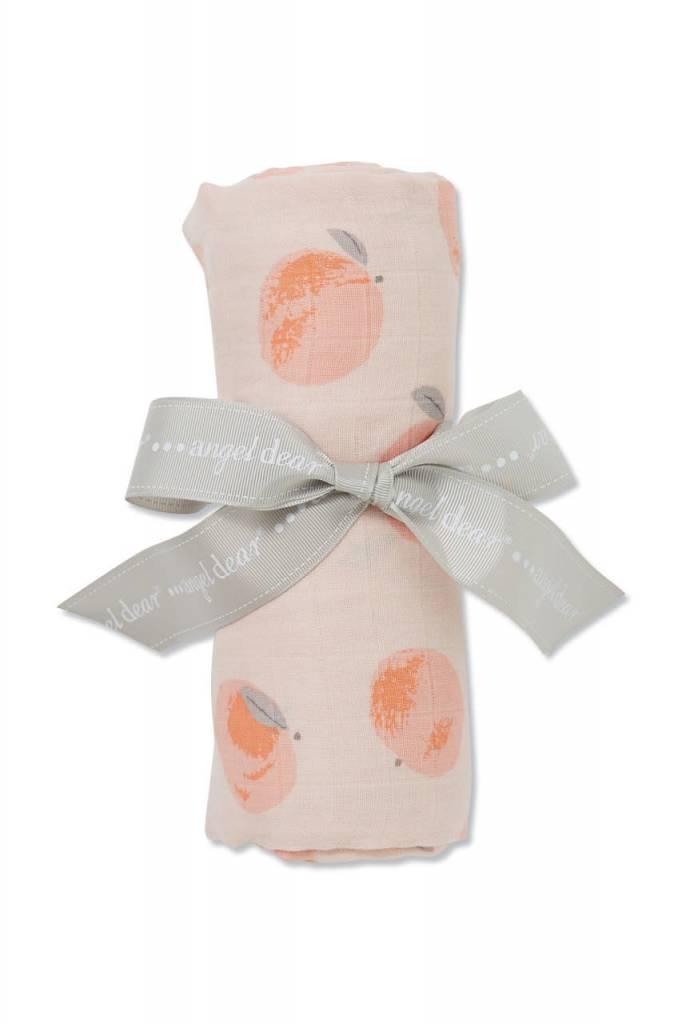 Angel Dear Swaddle Blanket - Peachy