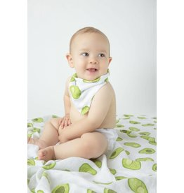 Angel Dear Bandana Bib - Avocado