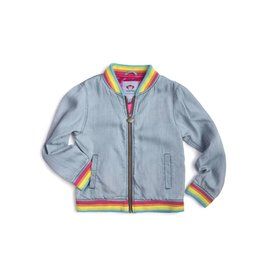 Appaman Nikki Bomber Jacket - Blue