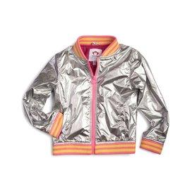 Appaman Nikki Bomber Jacket - Silver
