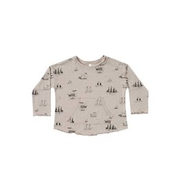 Rylee & Cru Ships Pouch Tee