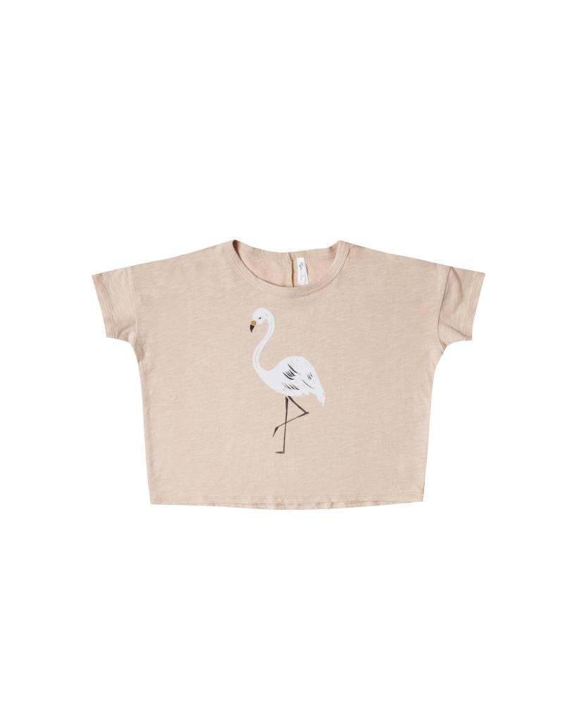 Rylee & Cru Flamingo Boxy Tee