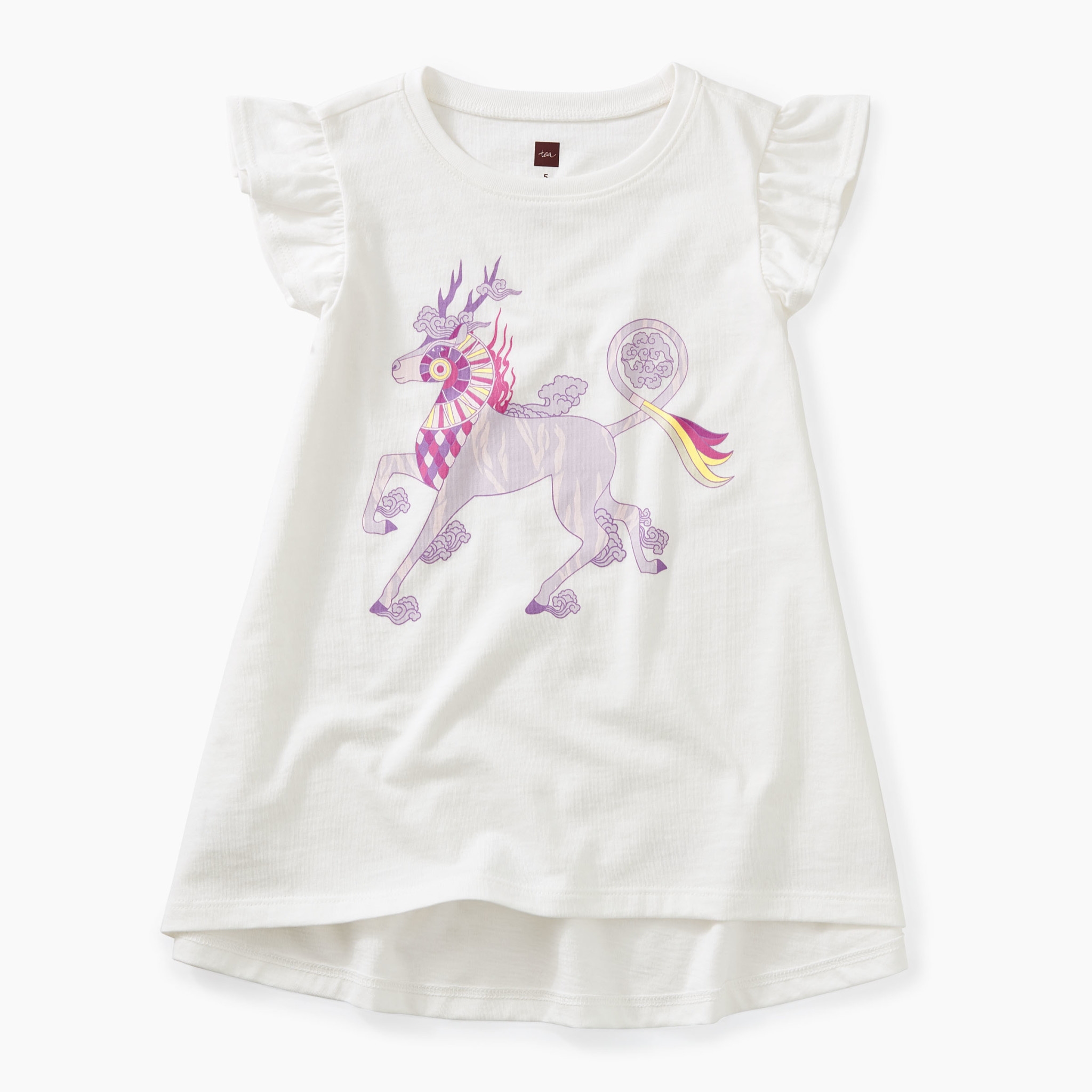 Tea Collection Thailan Unicorn Twirl Top