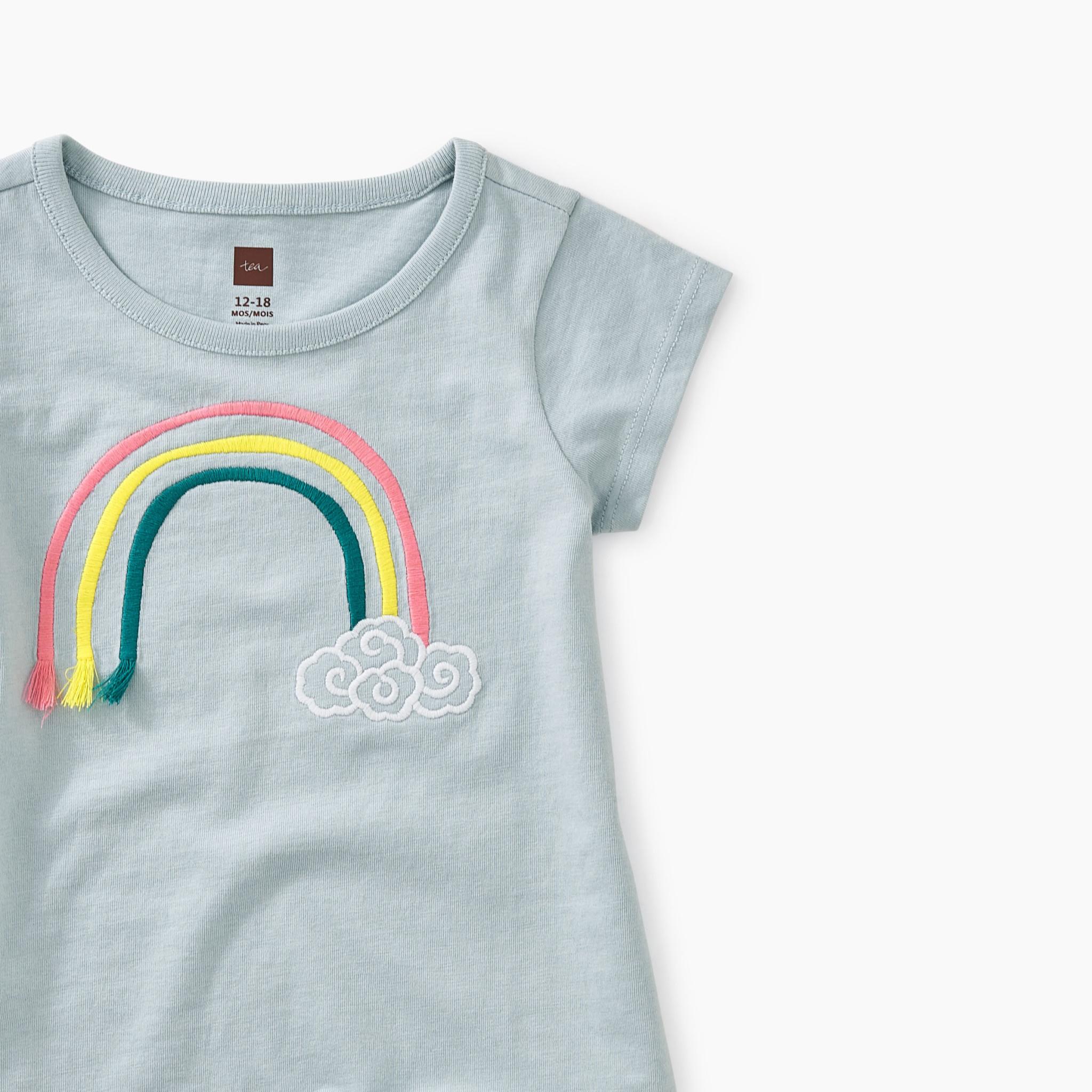 Tea Collection 3D Rainbow Baby Tee