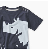 Tea Collection Yin Yang Rhino Tee