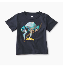 Tea Collection Slow Loris Baby Tee