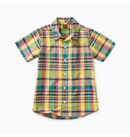 Tea Collection Madras Woven Shirt