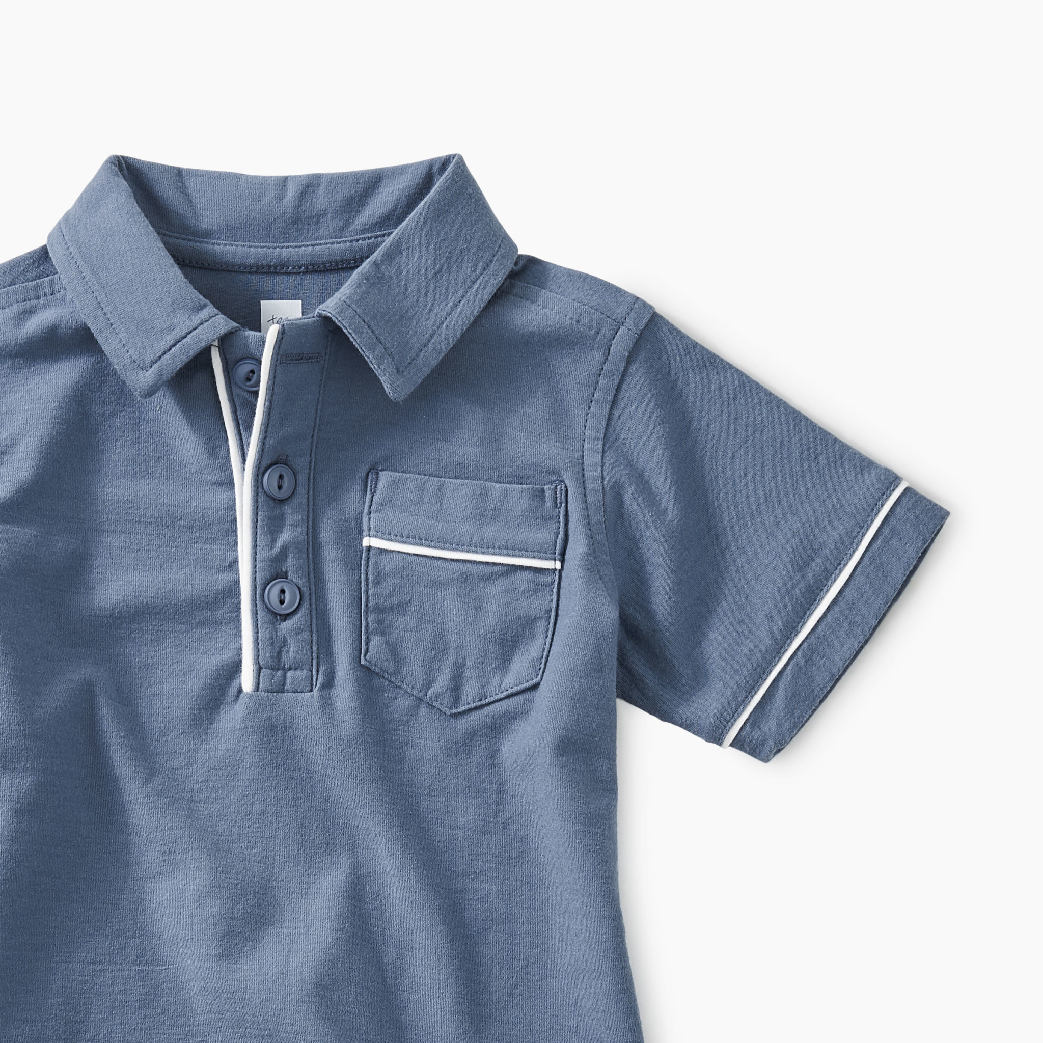 Tea Collection Piped Baby Polo