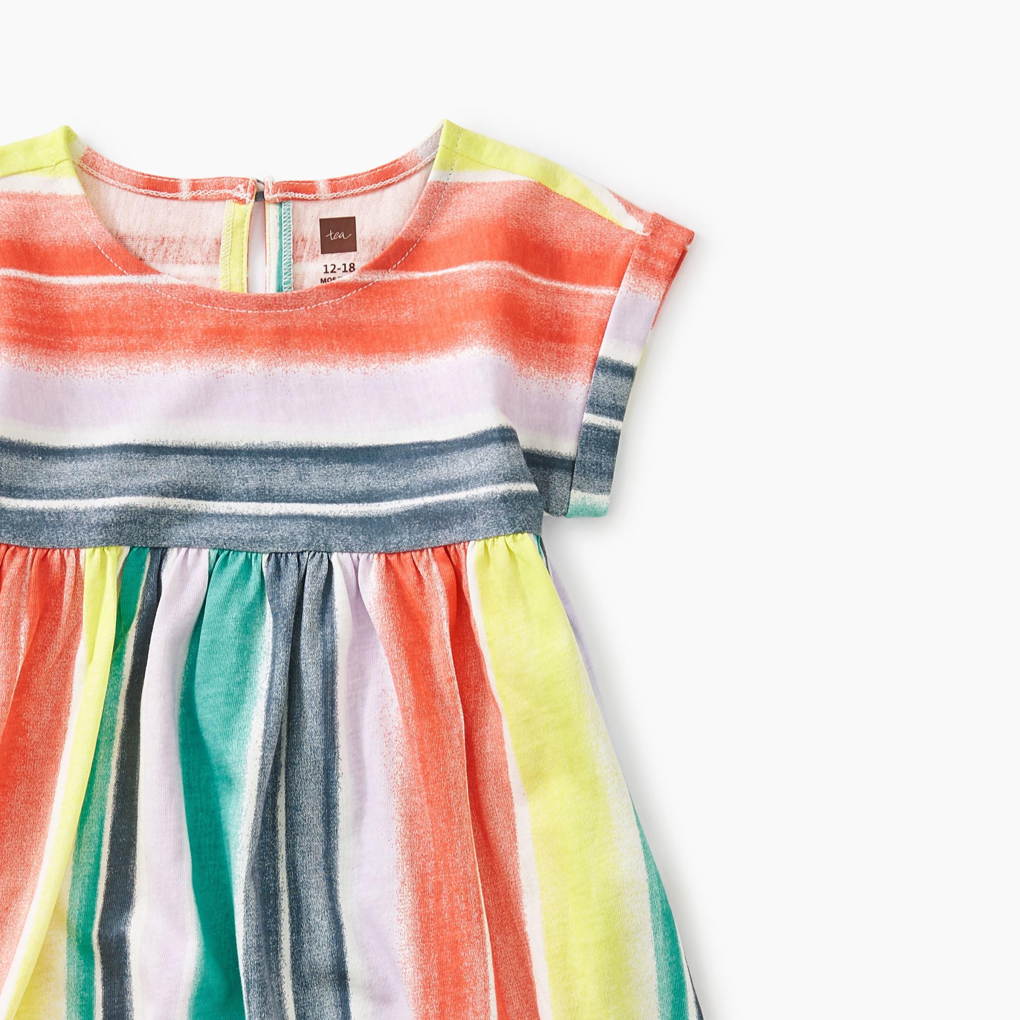 Tea Collection Watercolor Empire Baby Dress