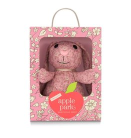 Apple Park Patterned Bunny- Pink Floral