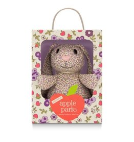 Apple Park Patterned Bunny- Purple Garden