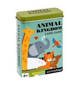 Petit Collage Tin Card Game: Animal Kingdom
