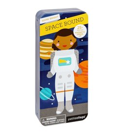Petit Collage Travel Magnetic Dress Up: Space