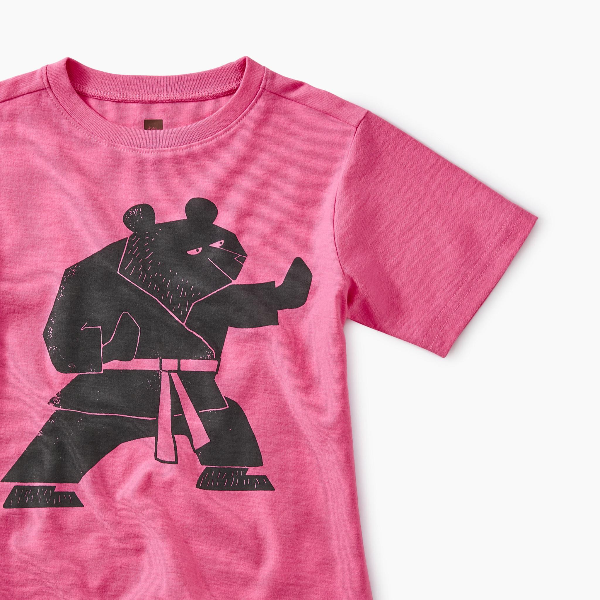 Tea Collection Martial Arts Bear Tee