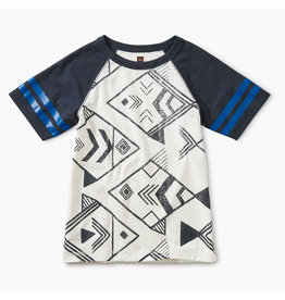 Tea Collection Geo Fish Raglan Tee